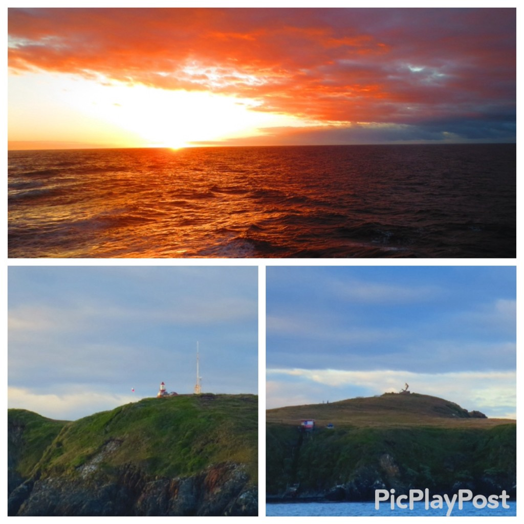 Sunrise at Cape Horn, the lighthouse at the end of the world, and the albatross monument to lost sailors