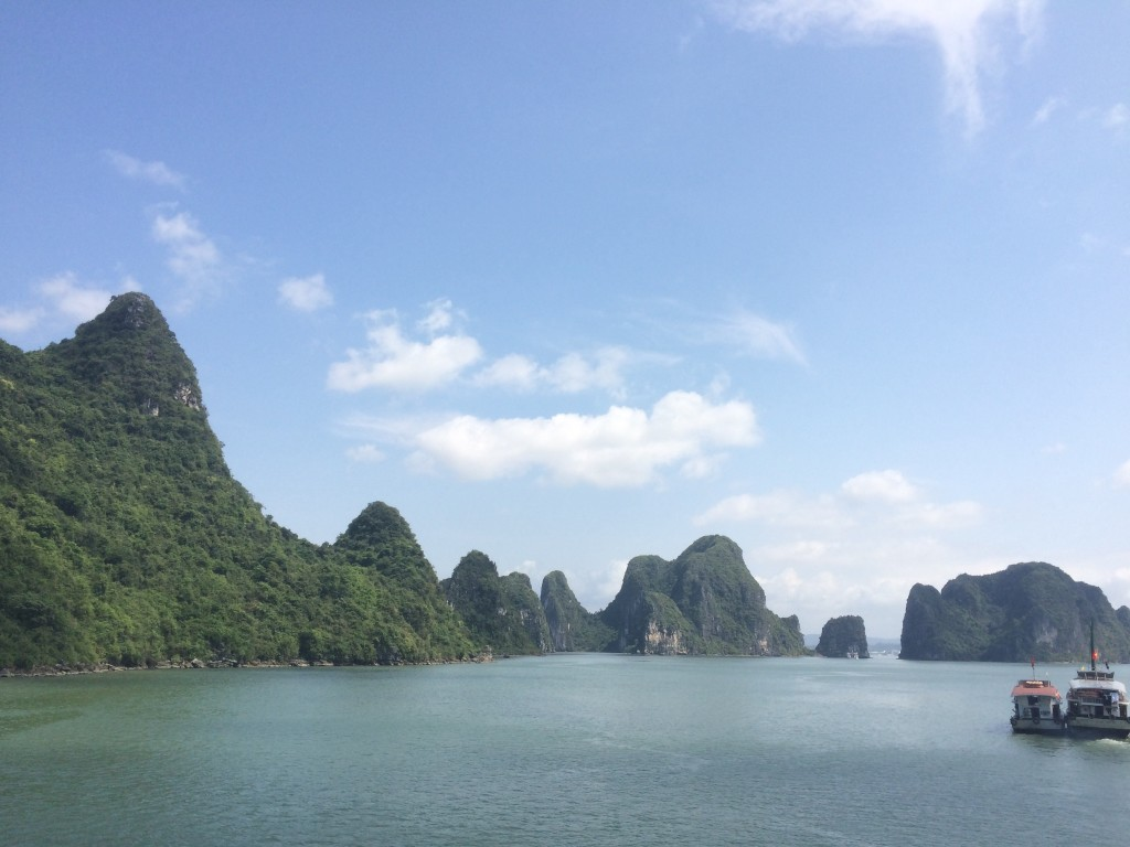Deceptively beautiful Ha Long Bay